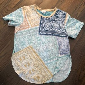 Anthropologie Patchwork T-Shirt